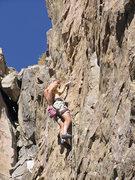 Rock Climbing Photo: D. Pedersen looking strong!