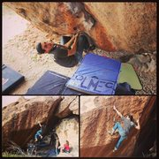 Rock Climbing Photo: Few action shots of the amazing Dragonfly Low. olm...