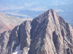 Rock Climbing Photo: A summer view of the South face of Gladstone from ...