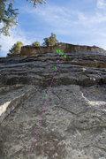 Rock Climbing Photo: Mr. Anderson 5.9