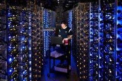 google's racks.
