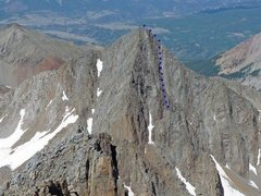 Rock Climbing Photo: Another view of the South face of Gladstone and th...
