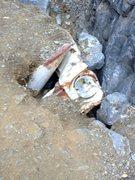 Rock Climbing Photo: The tail gate!