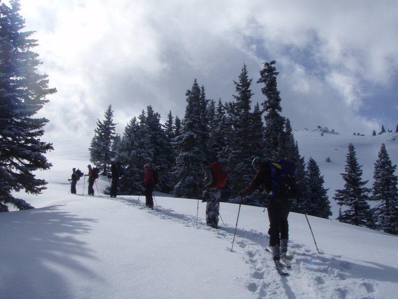 Backcountry round the Goodwin-Greene Hut, Aspen