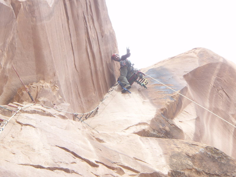 top pitch of Playin Hooky, Moab