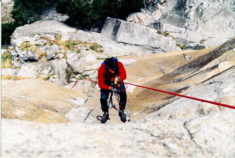 Rock Climbing Photo: Juggin