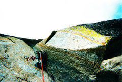 Rock Climbing Photo: Cool Pitch
