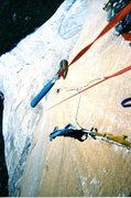 Rock Climbing Photo: Shield Triple Cracks