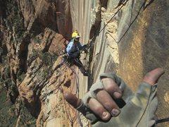 Rock Climbing Photo: Streaked Wall 1