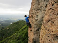 Rock Climbing Photo: Fun climb! Took the left way up which I felt makes...