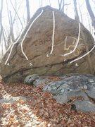 Rock Climbing Photo: Buddy Boulder Main Face