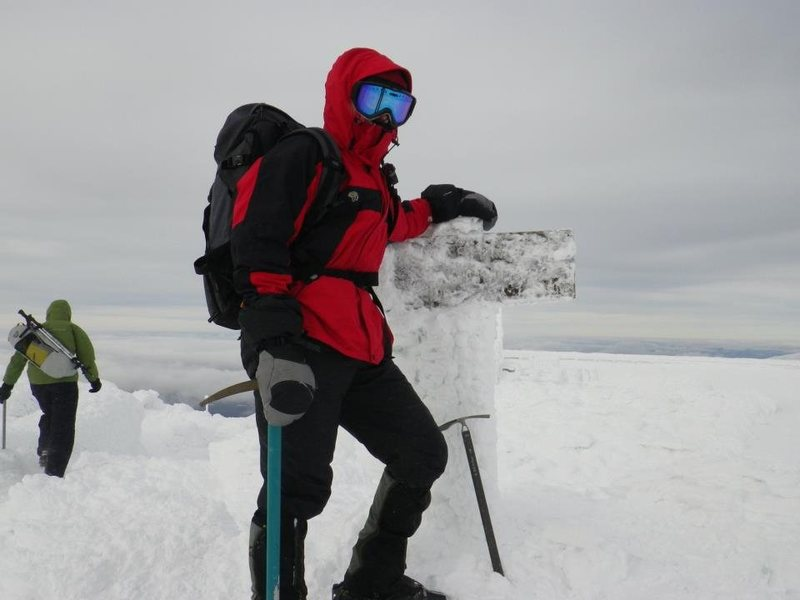 Rock Climbing Photo: summit of Mt Washington