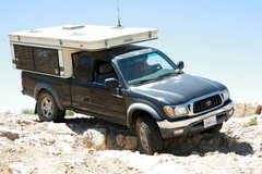 Rock Climbing Photo: 2001 Tacoma with FourWheel Camper