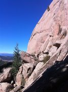 Rock Climbing Photo: Little Scraggy isn't so little! What a great place...