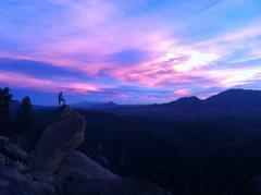 Rock Climbing Photo: Beautiful evening in the SPlatte.