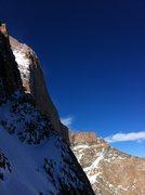 Rock Climbing Photo: A snowy Broadway. October 2013.