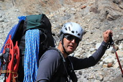 Rock Climbing Photo: Heavy on approach - Near Paso Marconi