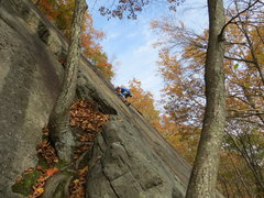 """Rock Climbing Photo: Fun for all ages on T.B.D.  The """"Corner""""..."""