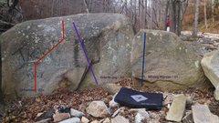 Rock Climbing Photo: The Culvert Boulders