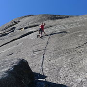 Rock Climbing Photo: Mike Arechiga on, Too Old To Be Bold, 5.10c, Chiqu...