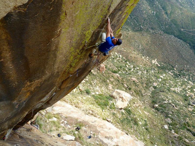 Rock Climbing Photo: Randy Leavitt, I'm Your Huckleberry - a beautiful ...