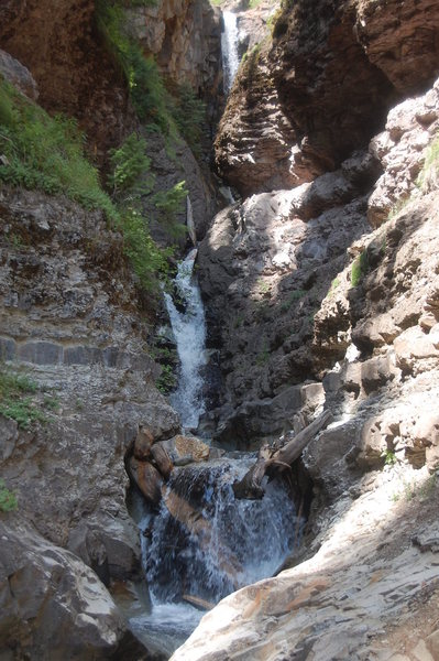 There's more to Ouray than climbing, check out the canyons!