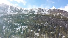 All Mixed Up and other ice climbs in RMNP 11-19-2013