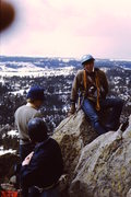 Rock Climbing Photo: 1969 - Devils Tower.  At that time, you had to wri...
