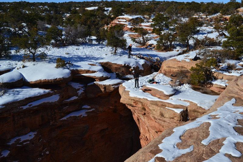 Another good adventure off the beaten track near Moab, UT.