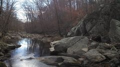 Rock Climbing Photo: Looking down stream