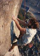 Rock Climbing Photo: Feet . . .