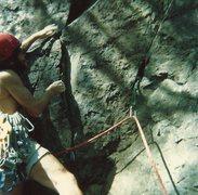 Rock Climbing Photo: South side start...