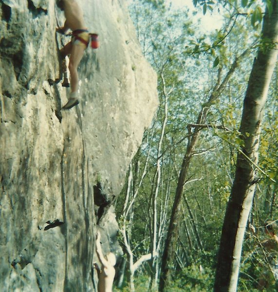 Rock Climbing Photo: West Side TR's, 1988.