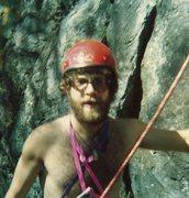 Rock Climbing Photo: Younger days . . .