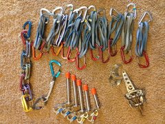 Rock Climbing Photo: Bulk gear