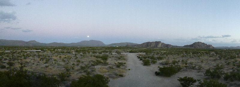 Moonrise at the Ranch