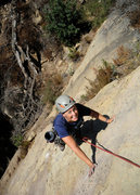 Rock Climbing Photo: Nicole nears the top of Labrador Cupcakes, on the ...