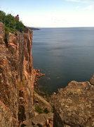 Rock Climbing Photo: Palisade Head, MN