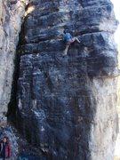 Rock Climbing Photo: Big ledges.