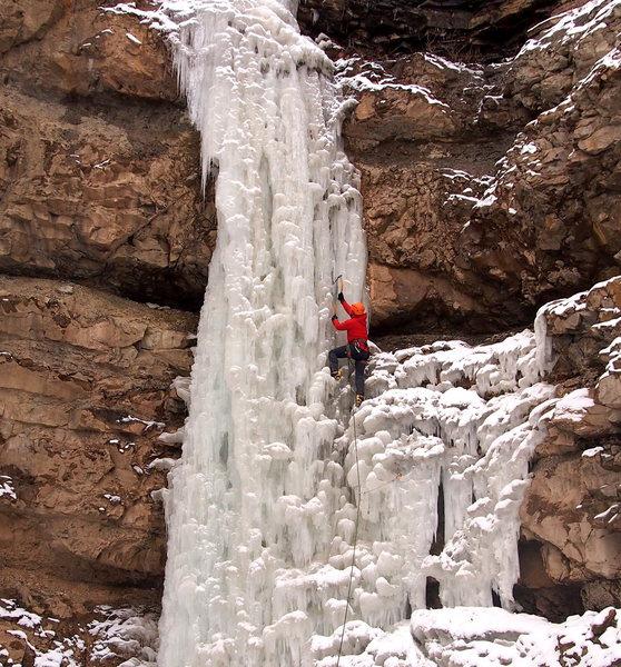 Rock Climbing Photo: Early season 2013, leadable conditions.