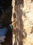 Rock Climbing Photo: the answer is six...in Tony feet.
