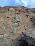 Rock Climbing Photo: Violator. Great steep climbing.