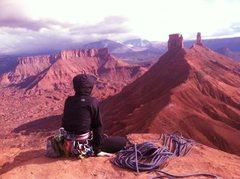 Rock Climbing Photo: on top