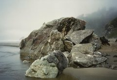 Rock Climbing Photo: haze...