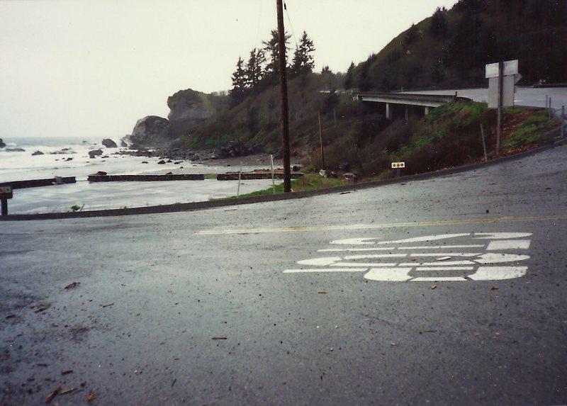 Rock Climbing Photo: parking & approach
