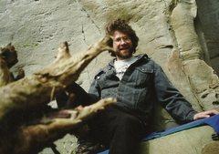 Rock Climbing Photo: younger days...
