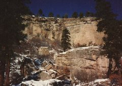 Rock Climbing Photo: Cliffs & boulders, 1991.