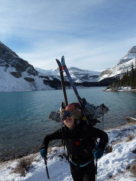 Mountaineering, skiing and ice climbing trip in one Thanksgiving weekend!
