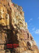 Rock Climbing Photo: String Bikini topo