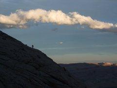 Rock Climbing Photo: Jackrabbit Buttress, RR Canyon NV